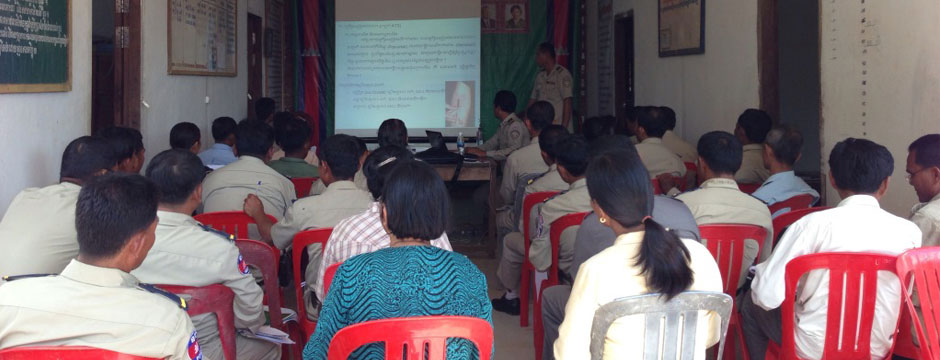 Training to police district level
